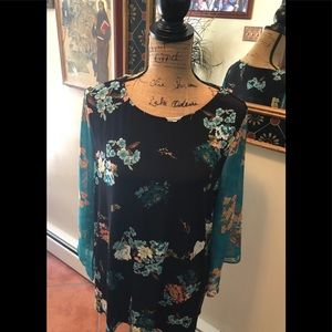Chico's floral tunic
